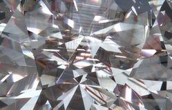 el diamante macro triangular acodado forma con un pequeño diamante sobre ellos 3d ilustración del vector