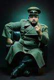 El dictador malvado Fotos de archivo libres de regalías