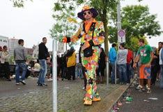 El diecinueveavo desfile en Zurich, 14 de agosto de 2010 de la calle Fotos de archivo libres de regalías