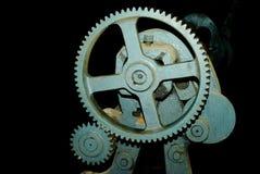 El diente grande rueda adentro el motor Imagen de archivo libre de regalías
