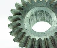 El diente grande rueda adentro el motor Fotografía de archivo libre de regalías