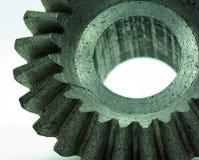 El diente grande rueda adentro el motor Imagen de archivo