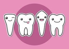 El diente mecanografía el ejemplo Fotos de archivo libres de regalías