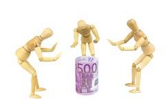 El dinero adora 2 Imagen de archivo libre de regalías