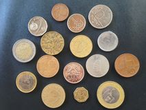 El dinero 2 del mundo fotografía de archivo libre de regalías
