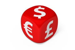 El dinero en circulación muere Imagen de archivo
