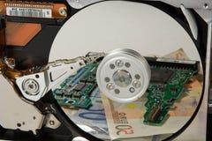 El dinero está adentro después de ventas Imagen de archivo libre de regalías