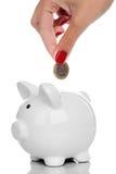El dinero salva concepto Imágenes de archivo libres de regalías