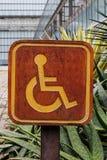 El discapacitado Imagenes de archivo