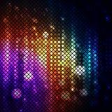 El disco colorido aligera el fondo libre illustration