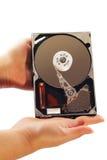 El disco duro del ordenador Fotografía de archivo