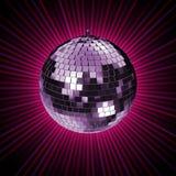 El disco irradia C Imagen de archivo libre de regalías