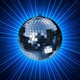 El disco irradia D Imagen de archivo libre de regalías
