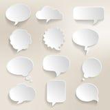 El discurso burbujea 3D Fotografía de archivo libre de regalías