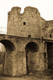 El diseñar antiguo de la fortaleza de Koporskaya Fotos de archivo