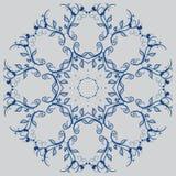El diseño abstracto de un modelo circular Mandala redonda Foto de archivo libre de regalías