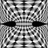 El diseño deformó el contexto trellised diamante Fotografía de archivo libre de regalías