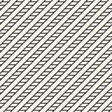 El diseño gráfico mínimo blanco y negro geométrico abstracto alinea el modelo Foto de archivo