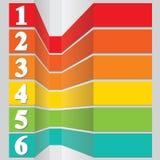 El diseño moderno, se puede utilizar para el gráfico o el Web site. Foto de archivo