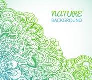 El diseño plano de ecología, ambiente, verde limpia Fotografía de archivo libre de regalías