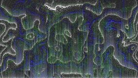 El dise?o de interferencia digital abstracta del ruido del pixel, filas, da?o video del error, 3d rinde el fondo, generado por or ilustración del vector