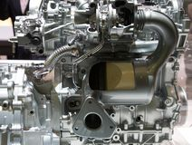El dispositivo interno del motor Fotografía de archivo libre de regalías