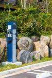 El dispositivo para bombear las ruedas, Hanoke, Japón Copie el espacio para el texto vertical fotos de archivo libres de regalías
