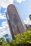 El districto financiero de Boston Foto de archivo libre de regalías