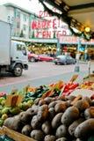 El districto histórico del mercado público del lugar de Pike Fotografía de archivo libre de regalías