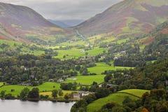 El districto inglés del lago Imágenes de archivo libres de regalías
