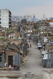 El distrito viejo de Hutong de Datong Imagen de archivo libre de regalías