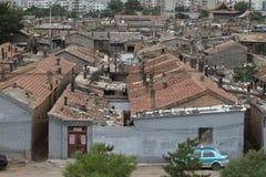 El distrito viejo de Hutong de Datong Fotografía de archivo