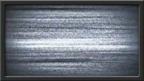 El disturbio de la imagen de la TV y sale - efecto de pantalla verde ilustración del vector