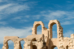 El Djem Amphitheater (9) Royalty Free Stock Images