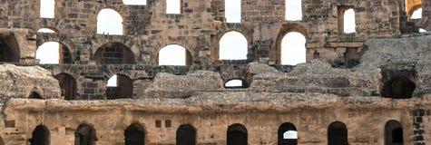 El Djem Amphitheater (13). El Djem Roman Amphitheatre in Tunisia Stock Image