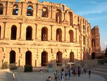 El Djem amphitheatre  Stock Photography