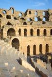 El Djem Amphitheatre audytorium Obraz Royalty Free