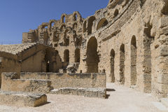 El Djem Amphitheatre Royalty Free Stock Photography