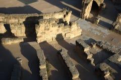 El Djem, Amphitheatre ruins Stock Photos
