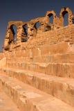 El Djem ampitheatre Tunezja zdjęcia royalty free