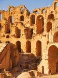 El Djem Coliseum Stock Photo