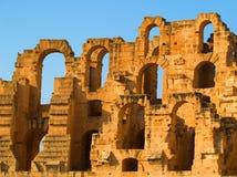 El Djem Coliseum Royalty Free Stock Image