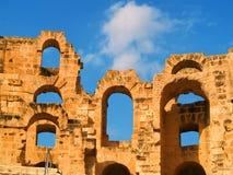 El Djem Coliseum Royalty Free Stock Photo