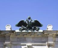 El doble dirigió Eagle Fotos de archivo libres de regalías