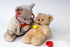 El doctor Bear Fotos de archivo