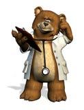 El doctor Bear - con el camino de recortes stock de ilustración