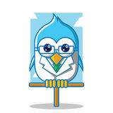 El doctor Bird Icon Ilustración del Vector