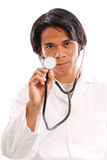 El doctor Check Up Imagen de archivo libre de regalías