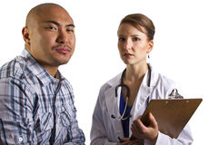 El doctor Consultation Imagen de archivo