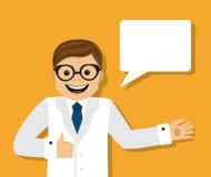 El doctor da consejo libre illustration